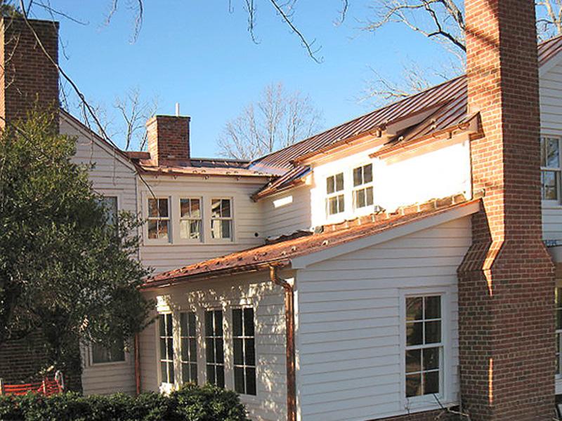 Charlottesville Residential Roofing Slate Copper Shake